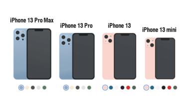 iPhone13どのモデルにする?どこで購入する?機能と価格とプランを比較してみた。