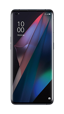 OPPO Find X3 Proの形状