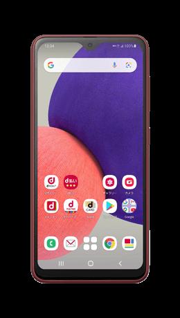 Galaxy A22 5Gの形状