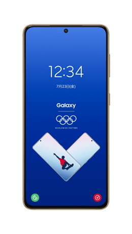 Galaxy S21 5G Olympic Games Editionの形状