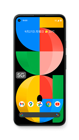 Google Pixel 5a (5G)の形状